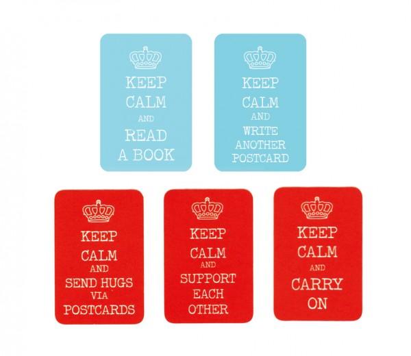 """""""Keep Calm"""" Classic Sticker Set 50 Stück"""
