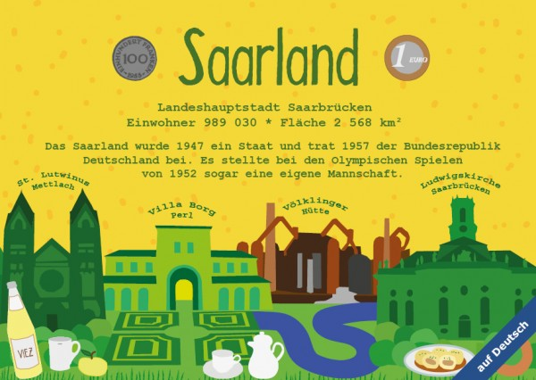 Saarland - German Landmark Series