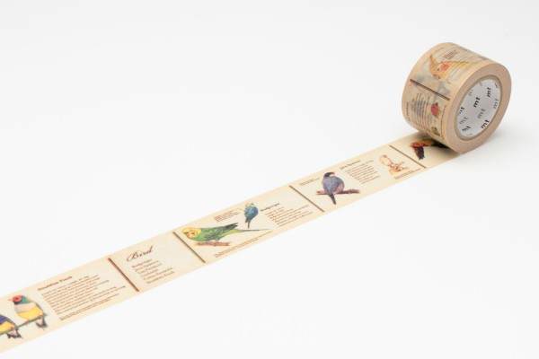 mt masking tape ex encyclopedia / bird