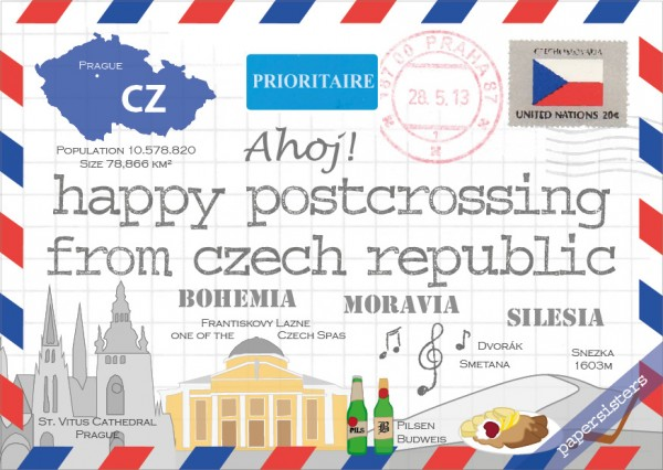 Happy Postcrossing CZ