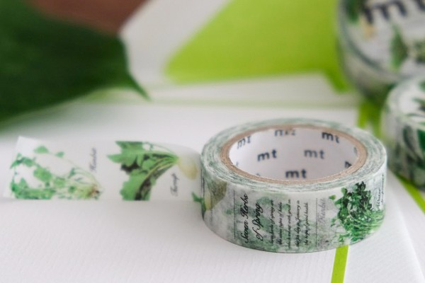 mt masking tape ex seven herbs of spring