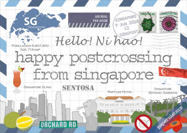 Happy Postcrossing SG