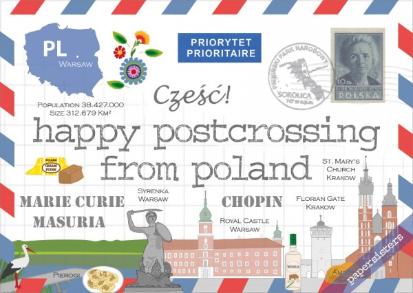 Happy Postcrossing PL
