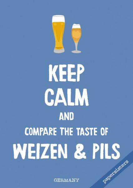 Keep calm Weizen & Pils - No.14