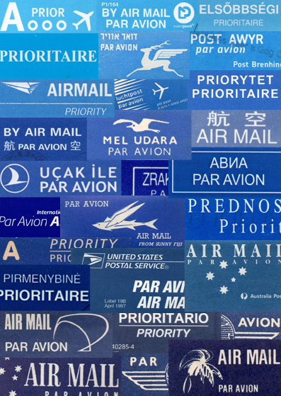 Image is loading AIR-MAIL-AIRMAIL-PAR-AVION-STICKERS-ROYAL-MAIL-