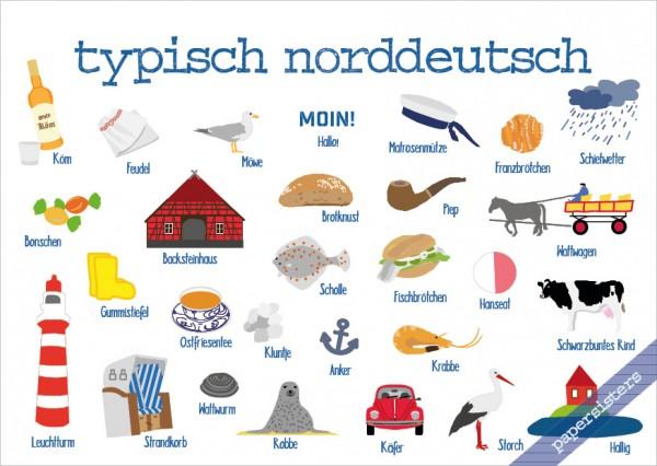 Typisch Norddeutsch