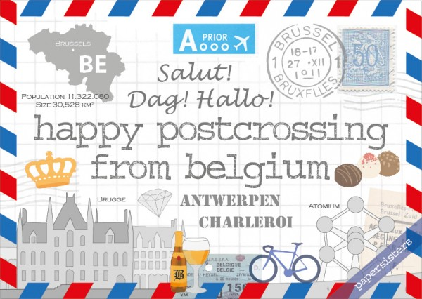 Happy Postcrossing BE