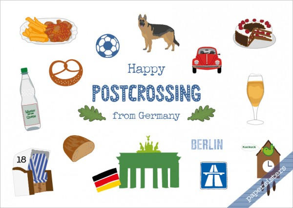 German Postcrossing Greetings