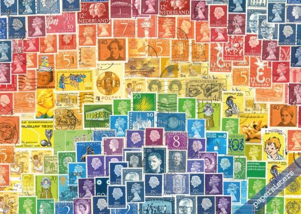 Stamp Rainbow