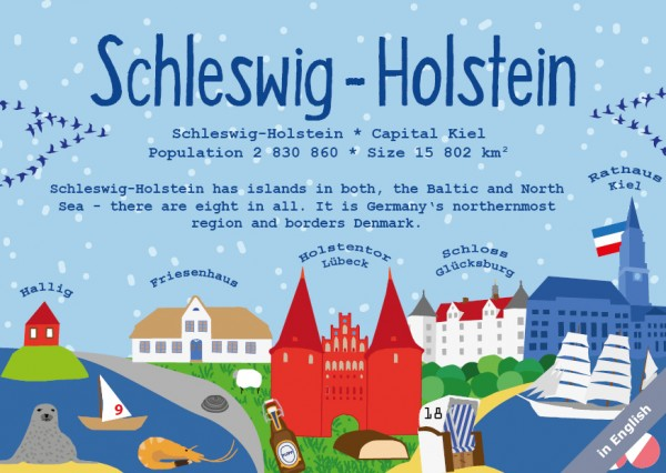 Schleswig-Holstein - German Landmark Series
