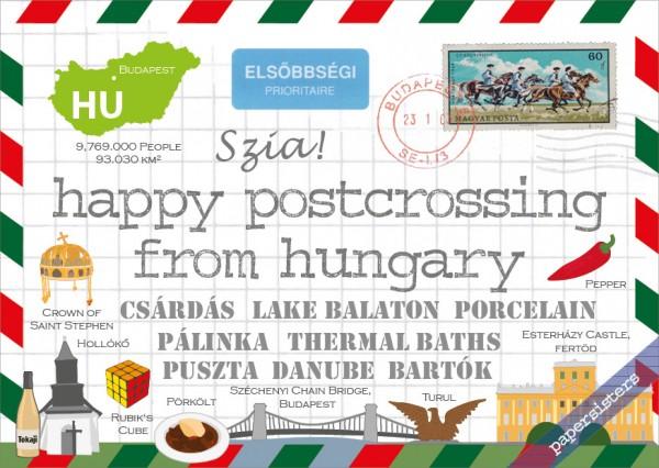 Happy Postcrossing HU