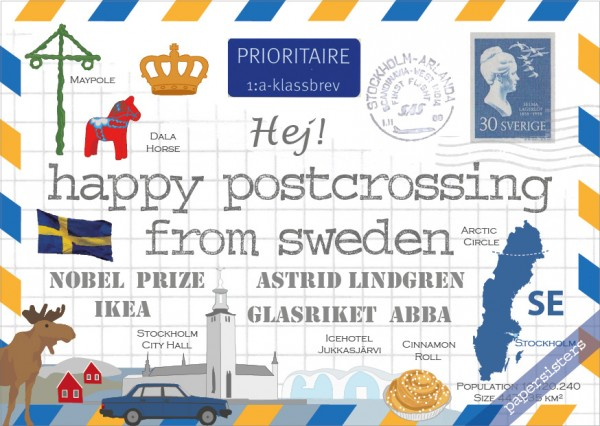 Happy Postcrossing SE