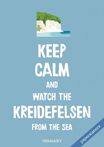 Keep calm Kreidefelsen - No.19