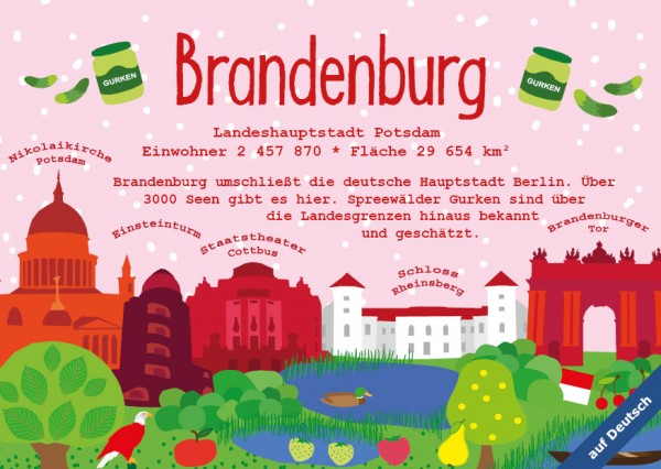 Brandenburg - German Landmark Series