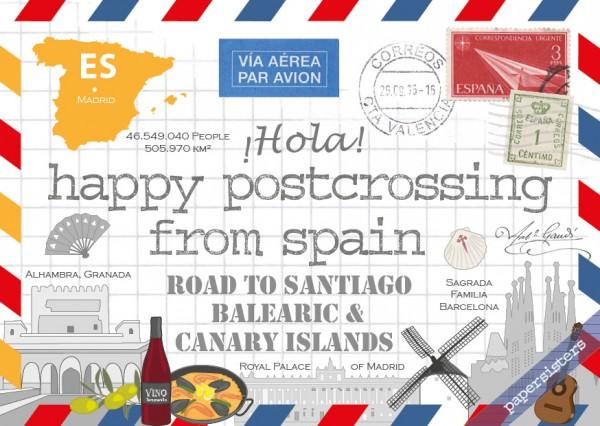Happy Postcrossing ES