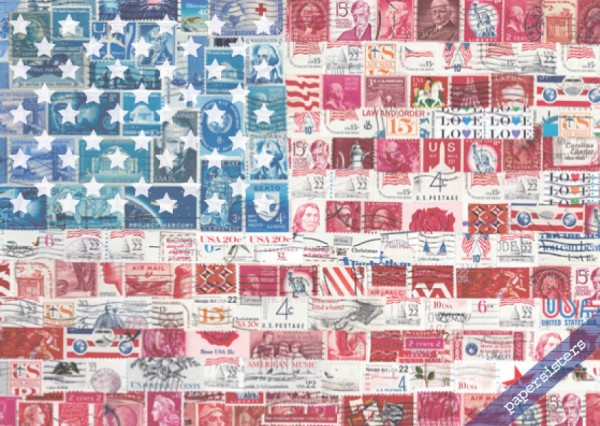US Stamp Flag