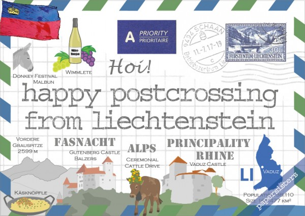 Happy Postcrossing LI