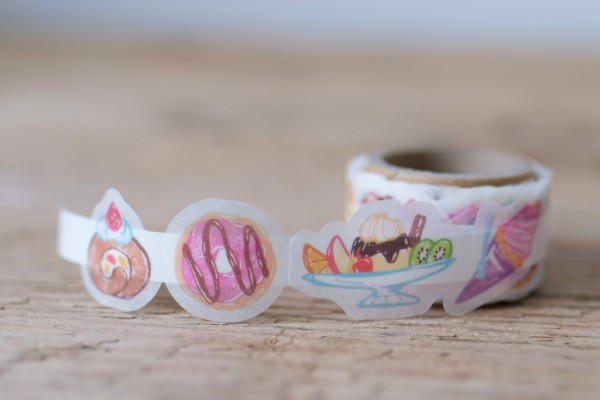 Masking Tape Stickers Sweets