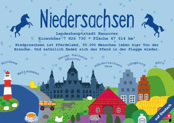 Niedersachsen - German Landmark Series