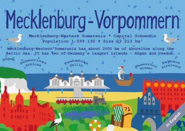 Mecklenburg-Vorpommern - German Landmark Series