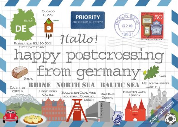 Happy Postcrossing DE - 5th Edition