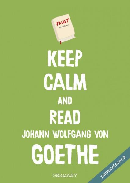 Keep calm Goethe - No.5