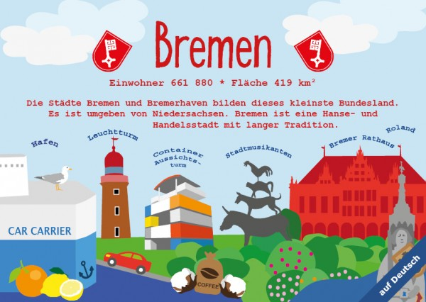 Bremen - German Landmark Series