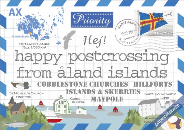 Happy Postcrossing AX