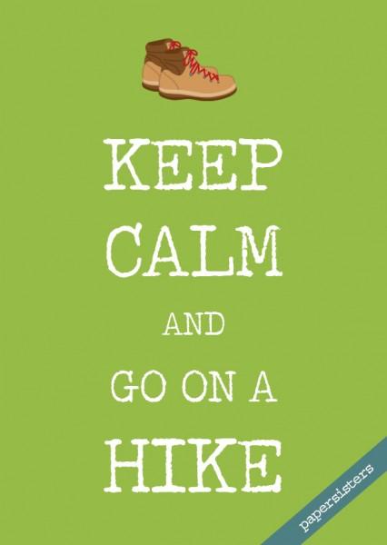 Keep calm Hike