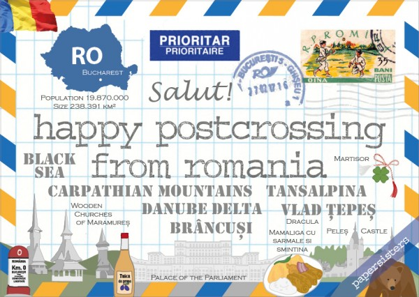 Happy Postcrossing RO