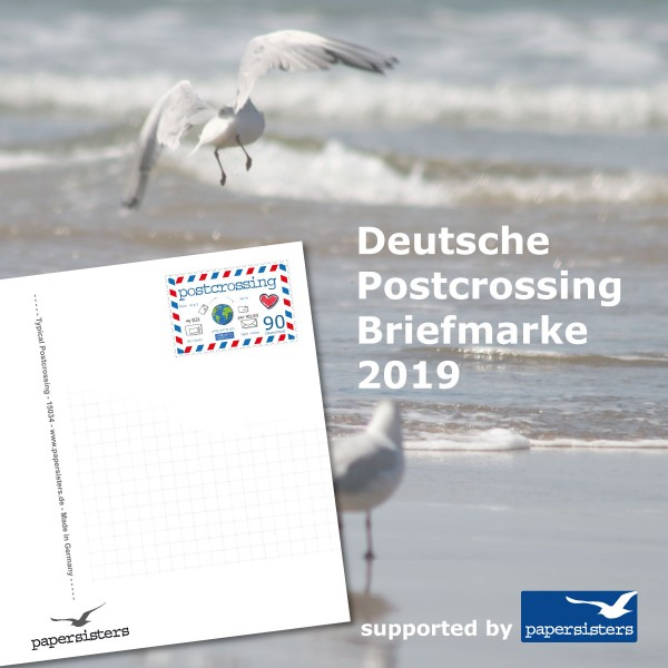 papersisters-Initiative-Deutsche-Postcrossing-Briefmarke-2019-square