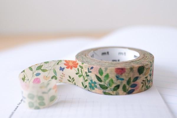 mt masking tape ex watercolor flower