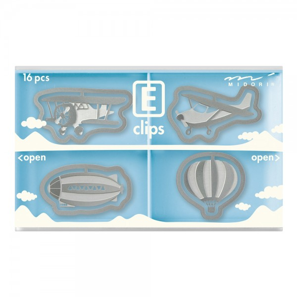E-Clips Aerial Vehicles - 16 pieces