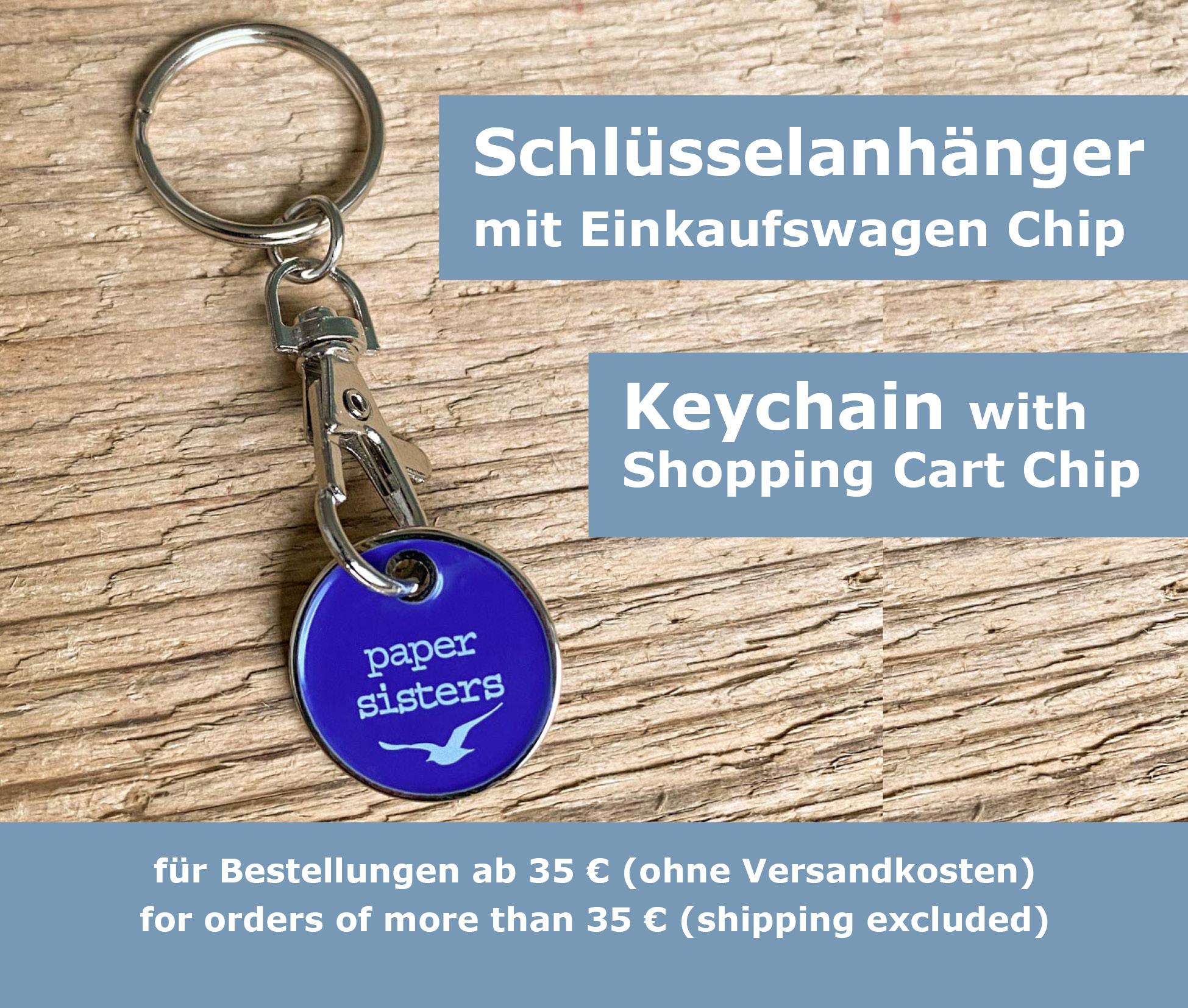 papersisters-Goodie-Schl-sselanh-nger-Einkaufswagen-Chip