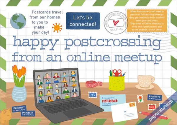 Happy Postcrossing Online Meetup