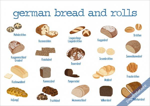 German Bread and Rolls