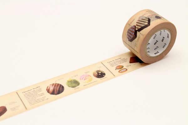 mt masking tape ex encyclopedia / chocolate