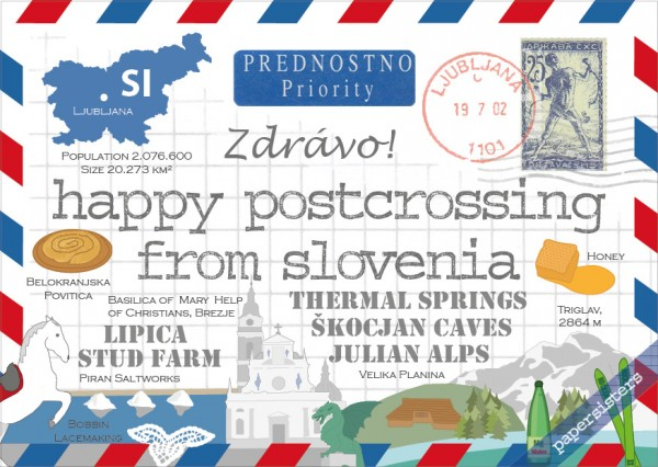 Happy Postcrossing SI