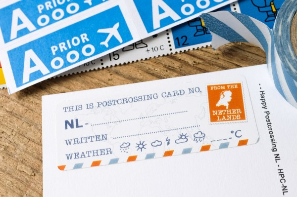 Postcard ID NL Sticker Set 50 pieces