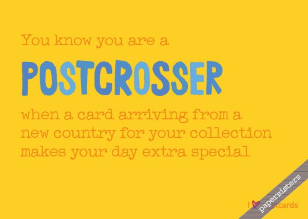 Life of a Postcrosser No.13