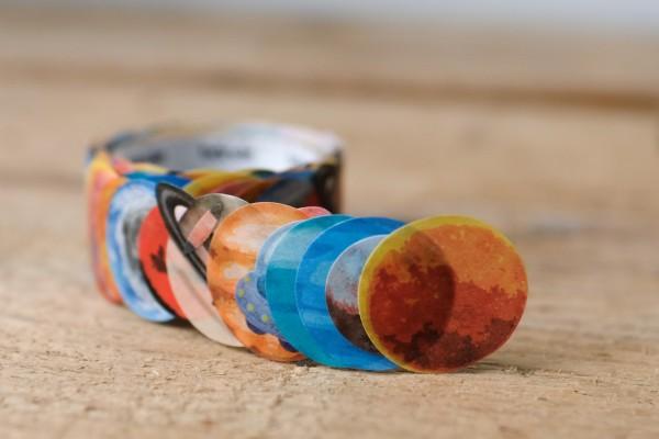 Washi Roll Sticker Planets