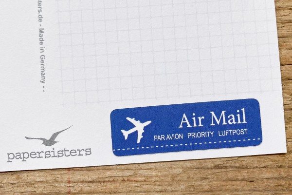 Just Airmail Sticker Set 60 pc