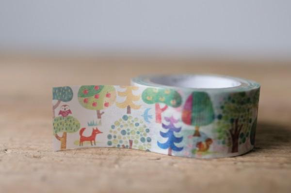 Masking Tape Forest
