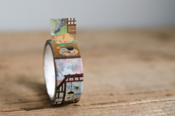 Masking Tape Cats and Dogs