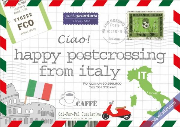 Happy Postcrossing IT