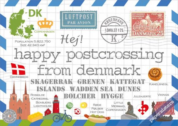 Happy Postcrossing DK