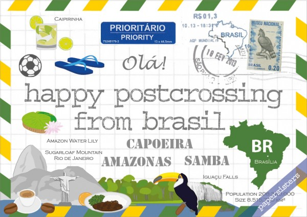 Happy Postcrossing BR
