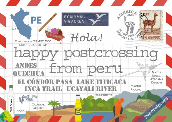 Happy Postcrossing PE