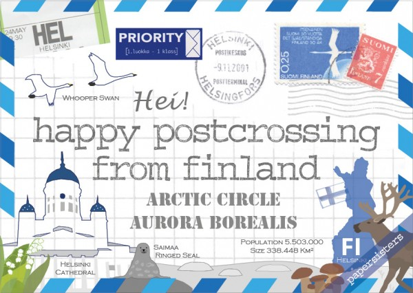 Happy Postcrossing FI