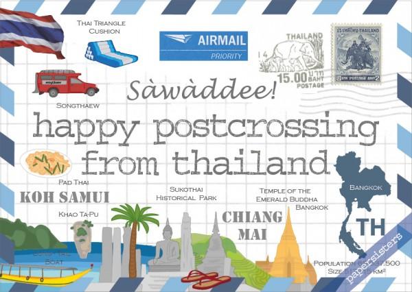 Happy Postcrossing TH